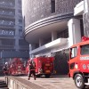 大分市役所8階からのラペリング映像
