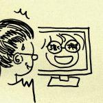 お母さんのブログで自分のネタがバズっていることを知ったムスメ