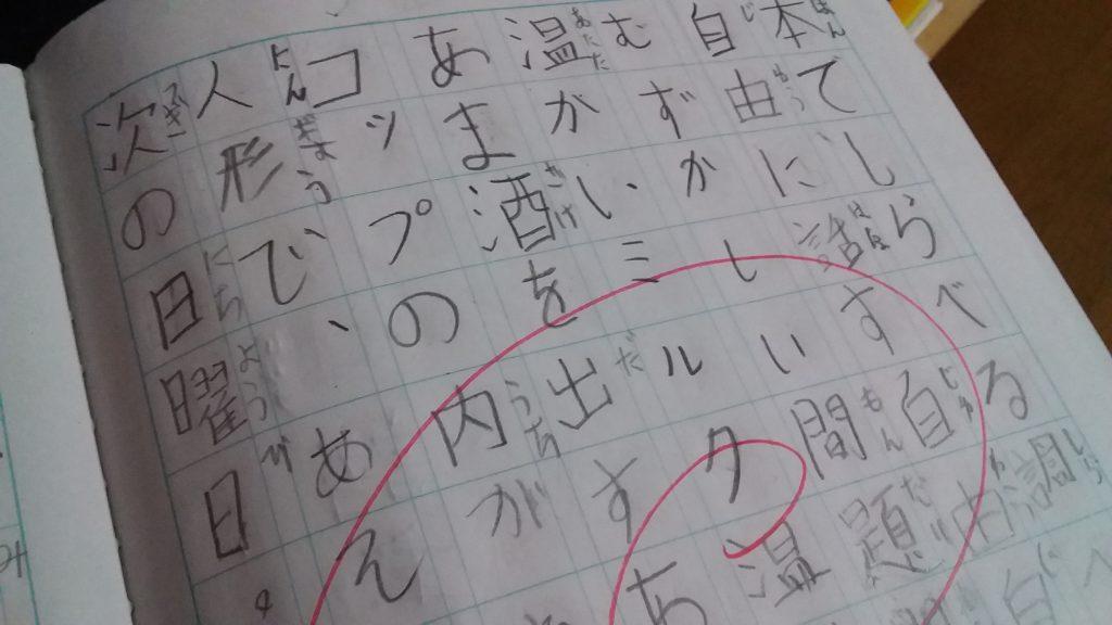 宿題,漢字,ドリル,小学生