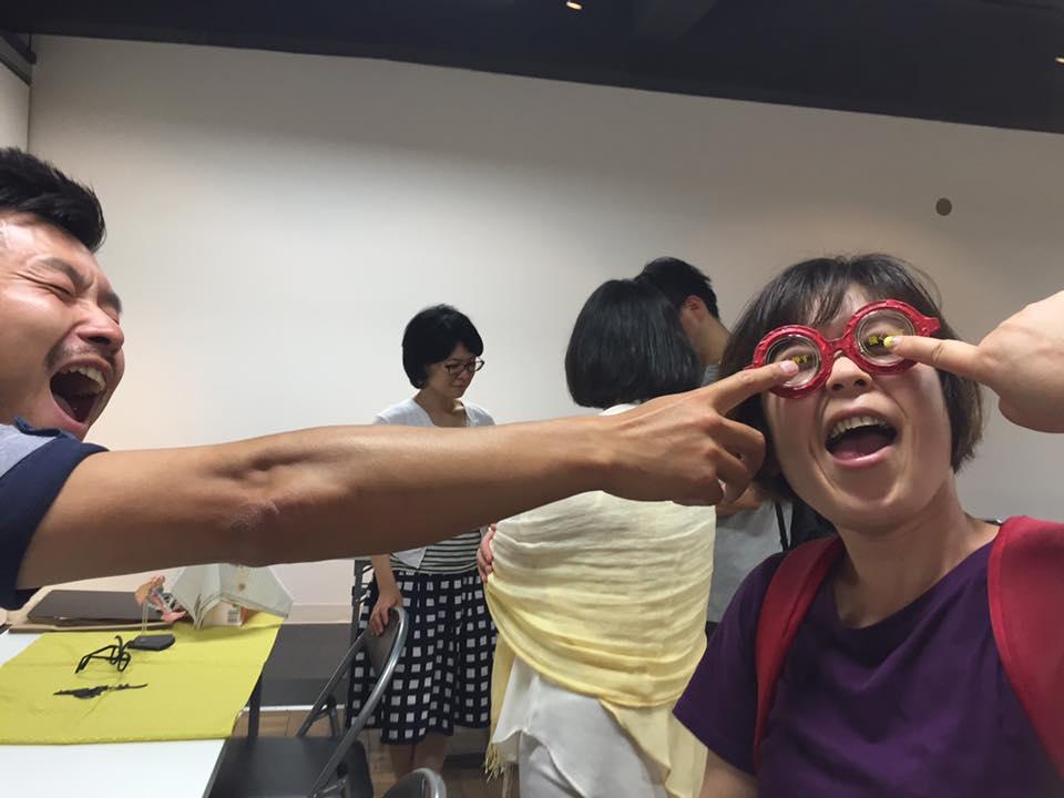 オモシロ消防訓練屋,イグジット,強く押すメガネ,よっしー