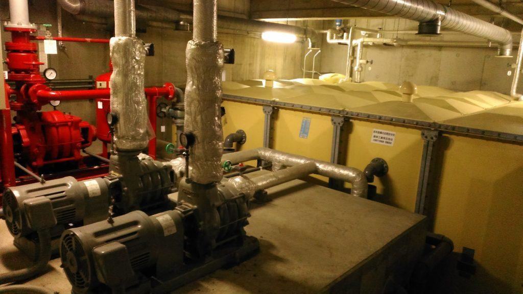 地下ポンプ室