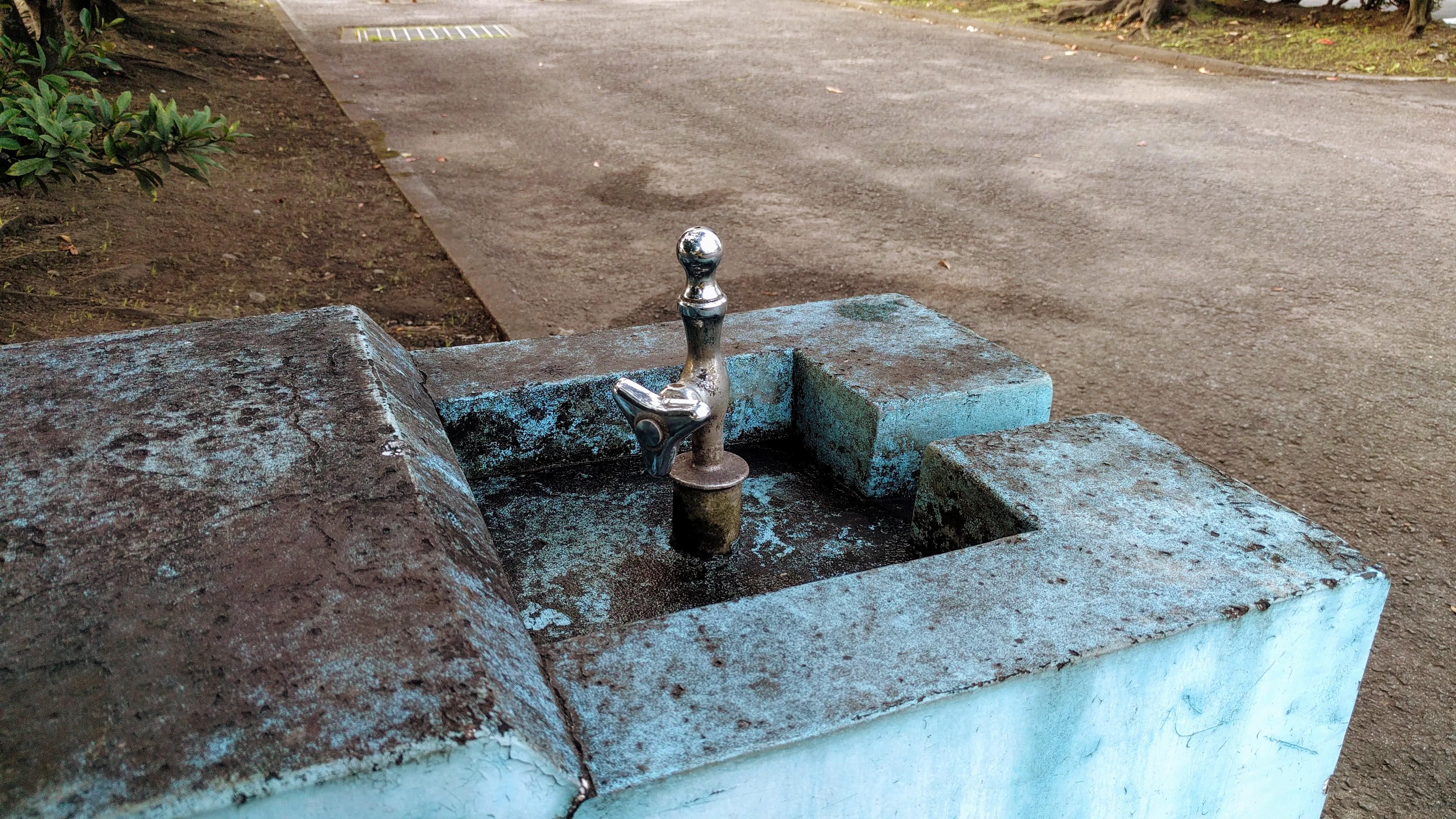 公園によくある蛇口
