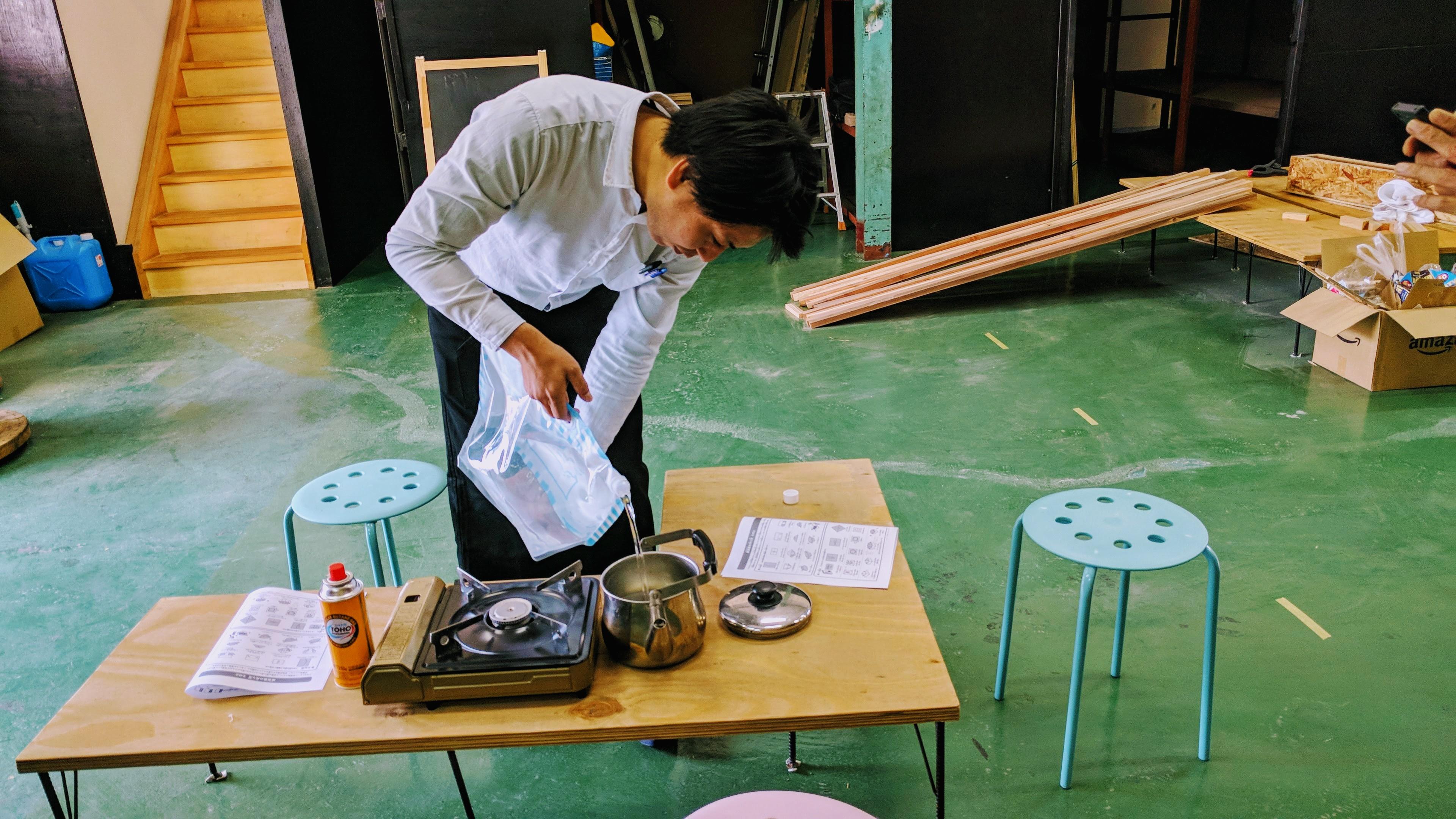 オモシロ訓練食堂