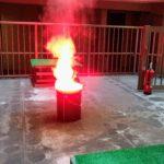 簡単!安全!マンションの狭い敷地内でリアルな消火訓練をやる方法
